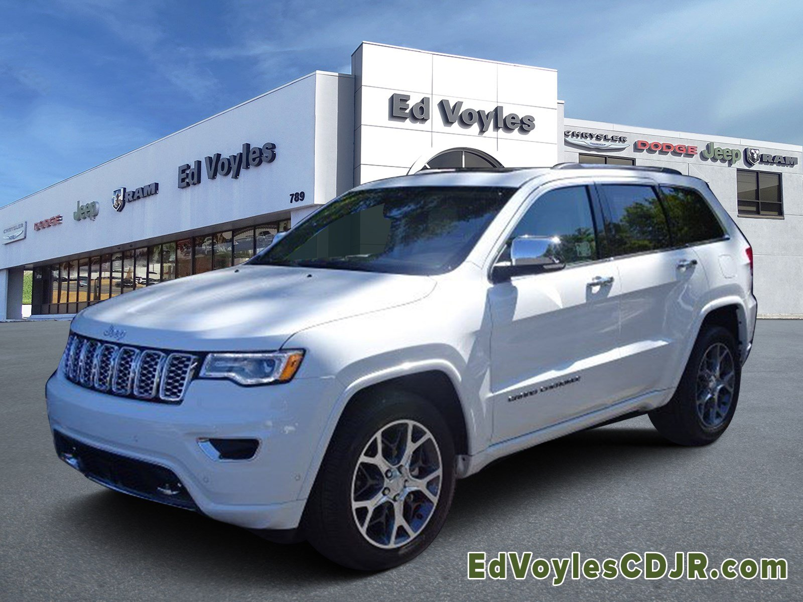 Jeep Grand Cherokee Overland >> New 2020 Jeep Grand Cherokee Overland With Navigation