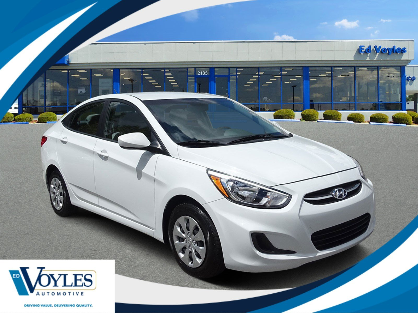 Hyundai Certified Pre-Owned >> Certified Pre Owned 2017 Hyundai Accent Se Fwd 4dr Car