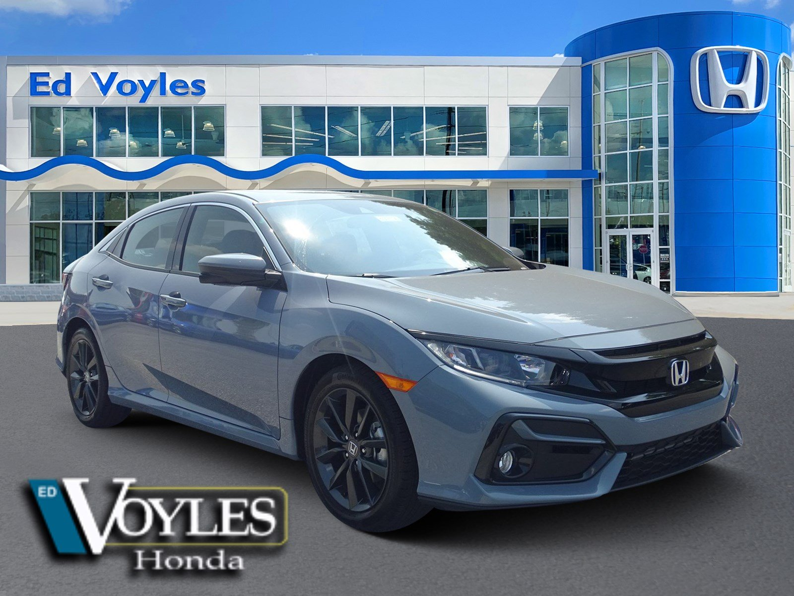 Honda Civic New >> New 2020 Honda Civic Hatchback Ex Fwd Hatchback